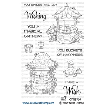 Your Next Stamp MAGICAL WISHING WELLS Clear cyns707
