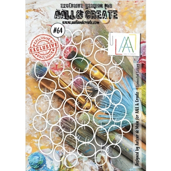 AALL & Create CONNECTED COLONY Stencil aal10064