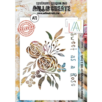 AALL & Create BOUQUET Stencil aal10073