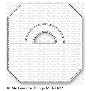 My Favorite Things TREAT BAG TOPPER Die-Namics MFT1497