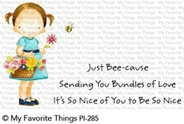 Pure Innocence BUNDLES OF LOVE Clear Stamps PI285