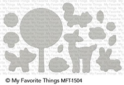 My Favorite Things SWEET SPRING FRIENDS Die-Namics MFT1504