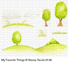 My Favorite Things SCENE BUILDER Clear Stamps SY08