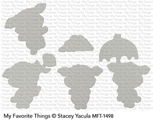 My Favorite Things PIGGY PEBBLES Die-Namics MFT1498