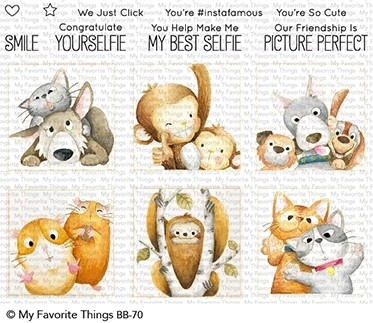 My Favorite Things PICTURE PERFECT Clear Stamps BB70 Preview Image
