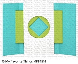 My Favorite Things SHUTTER CARD COMPONENTS Die-Namics MFT1514
