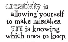 Tim Holtz Rubber Stamp MISTAKES Creativity Stampers Anonymous J2-1152