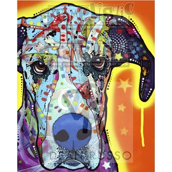 Stamplistic Cling Stamp GREAT DANE Dean Russo l190408