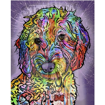 Stamplistic Cling Stamp SWEET POODLE Dean Russo k190423