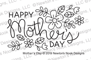 Newton's Nook Designs MOTHER'S DAY Clear Stamps NN1904S05