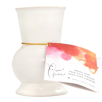 American Crafts Paper Fashion CERAMIC BRUSH VASE 349321