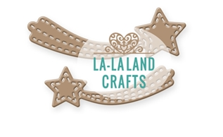 La-La Land Crafts SHOOTING STARS Dies 8425