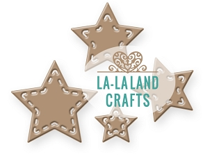 La-La Land Crafts SMALL STARS Dies 8427