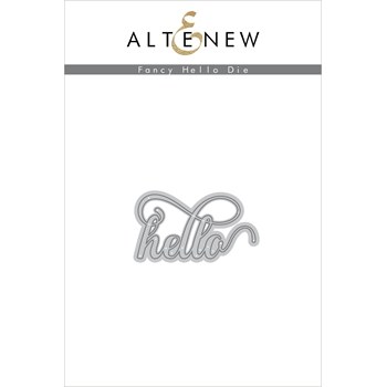 RESERVE Altenew FANCY HELLO Die ALT3221