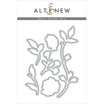 Altenew ROSE SPRAY Dies ALT3213