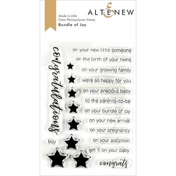 Altenew BUNDLE OF JOY Clear Stamps ALT3207