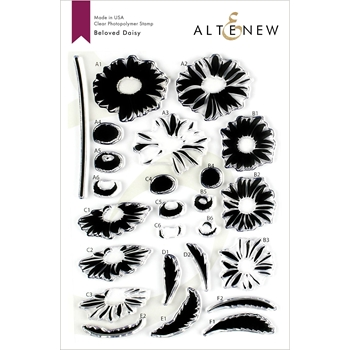 Altenew BELOVED DAISY Clear Stamps ALT3202