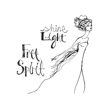 JDS-017 Spellbinders FREE SPIRIT Clear Stamps from Artomology by Jane Davenport