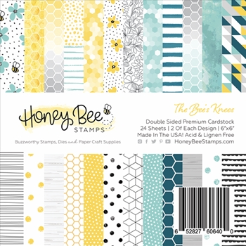 RESERVE Honey Bee THE BEE'S KNEES 6 x 6 Paper Pad hbpa-001