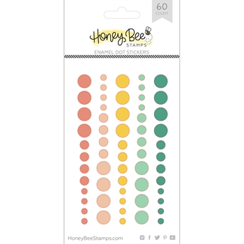 RESERVE Honey Bee SPRING FLING Enamel Dot Stickers hbes-003