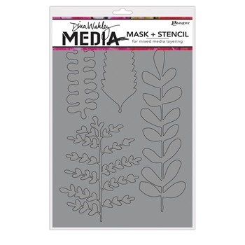 Dina Wakely BRANCHED Media Mask and Stencil MDS65005
