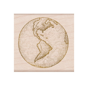 Hero Arts Rubber Stamp FROM THE VAULT EARTH F6350