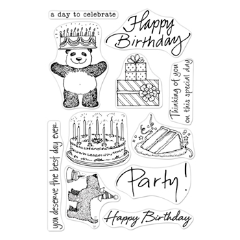 Hero Arts Clear Stamps FROM THE VAULT BIRTHDAY CM360