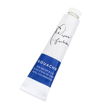 American Crafts Paper Fashion SEAWATER BLUE Gouache Paint 349334