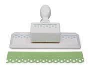 Martha Stewart SCALLOP DOT Edge Craft Punch Edger M284015