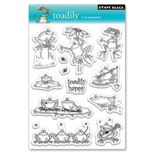 Penny Black Clear Stamps TOADILY 30-022