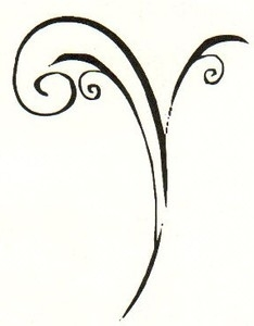 Tim Holtz Rubber Stamp SKETCH SPRIG Stampers Anonymous J1-1398