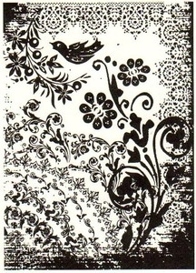 Tim Holtz Rubber Stamp TATTOO YOU Stampers Anonymous P4-1405 Preview Image