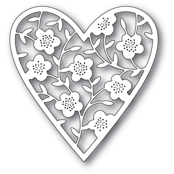 Memory Box - Floral Heart Bouquet