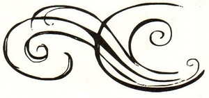 Tim Holtz Rubber Stamp SKETCH FLOURISH Stampers Anonymous K3-1400