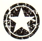 Tim Holtz Rubber Stamp CIRCLE STAR Stampers Anonymous D3-1406 zoom image