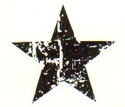Tim Holtz Rubber Stamp SCRATCHED STAR Stampers Anonymous D3-1407