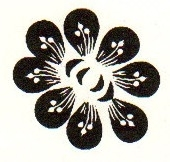 Tim Holtz Rubber Stamp TATTOO FLOWER Stampers Anonymous D3-1420
