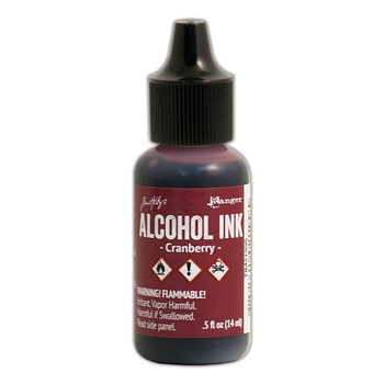 Tim Holtz Alcohol Ink CRANBERRY Adirondack Ranger TIM21995
