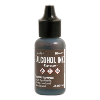 Tim Holtz Alcohol Ink ESPRESSO Ranger TIM22039