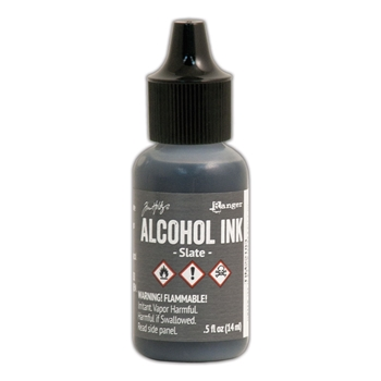 Tim Holtz Alcohol Ink SLATE Ranger TIM22183