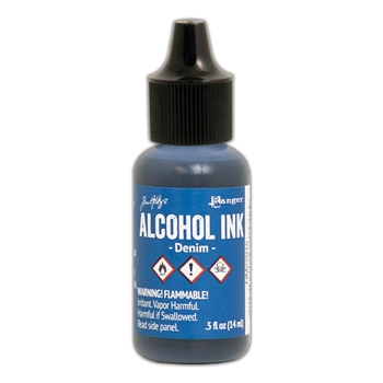 Tim Holtz Alcohol Ink DENIM Ranger TIM22015