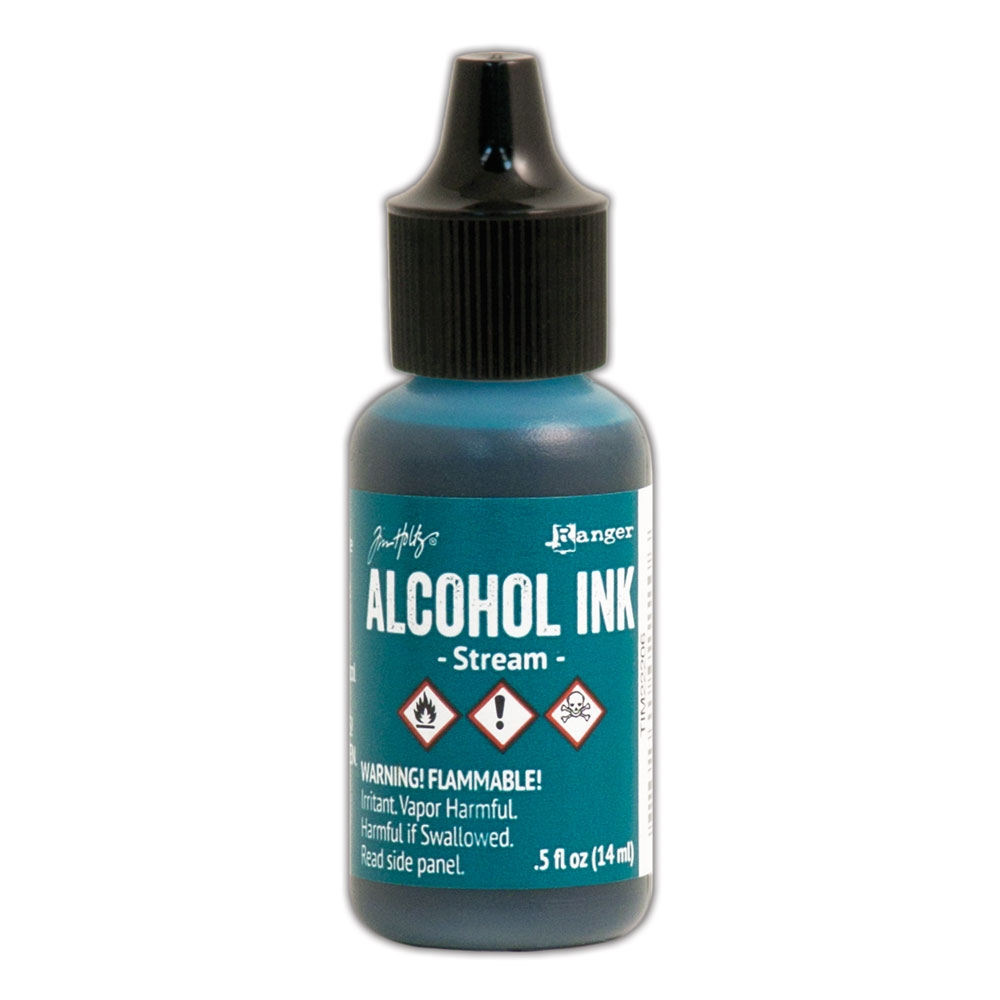 Tim Holtz Alcohol Ink STREAM Ranger TIM22206 zoom image