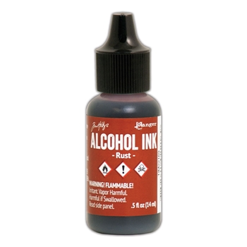 Tim Holtz Alcohol Ink RUST Adirondack Ranger TIM22169