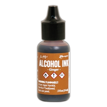 Tim Holtz Alcohol Ink GINGER Ranger TIM22046