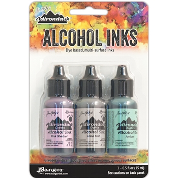 Tim Holtz Alcohol Ink Set WOODLANDS Adirondack Ranger TAK25931