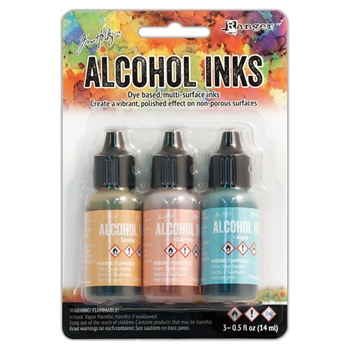 Tim Holtz Alcohol Ink Set LAKESHORE Adirondack Ranger TAK25955