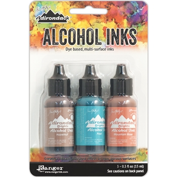 Tim Holtz Alcohol Ink Set SCENIC TERRACE Adirondack Ranger TAK25993