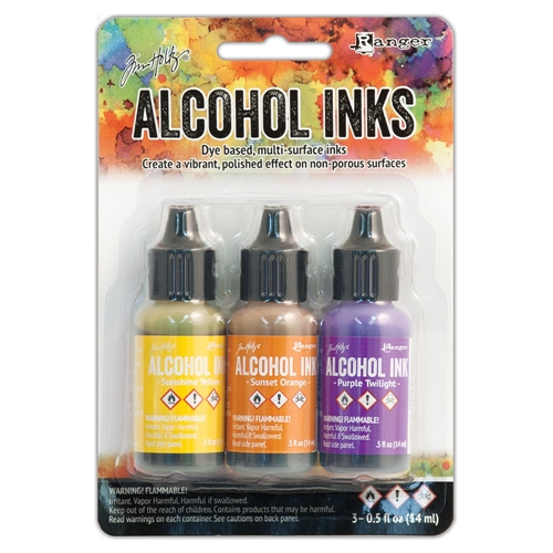 Tim Holtz Alcohol Ink Set SUMMIT VIEW Ranger TAK25986 Preview Image