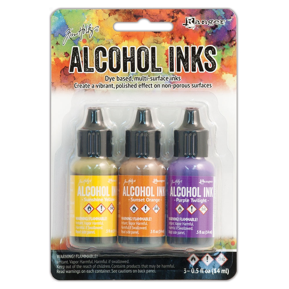 Tim Holtz Alcohol Ink Set SUMMIT VIEW