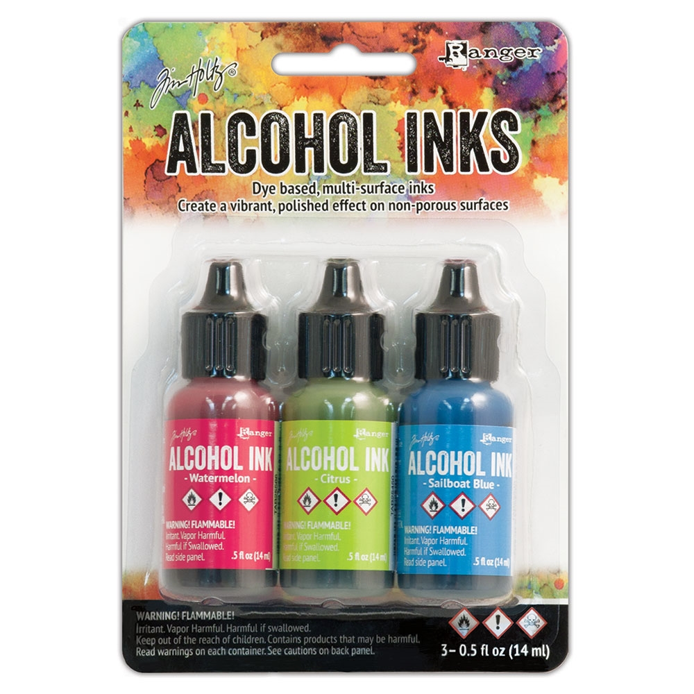 Tim Holtz Alcohol Ink Set DOCKSIDE PICNIC